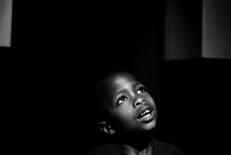 Portrait of an aids orphan at Nazareth House, Cape Town, South Africa - Robin Hammond | Panos Pictures