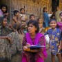 Researcher conducting a health survey in Bangladesh / Jenny Matthews - Panos pictures