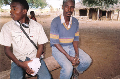 Rafael, a camponês and an artisan, who took part in the Living with Poverty project in Mozambique