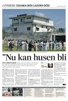 Rina Saeed Khan writes for Svenksa Dagbladet newspaper from Abbottabad where Osama bin Laden was hiding