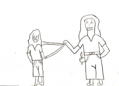 Childrens Drawings Reveal Violence At Home