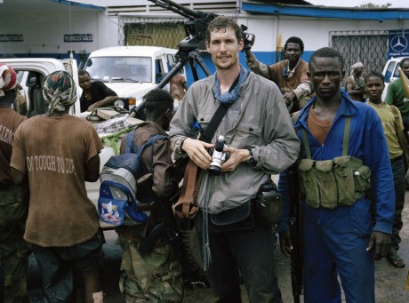 Tim Hetherington in Liberia / Tim Hetherington - Panos Pictures