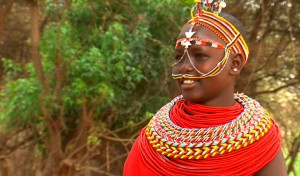 A Salima villager wearing traditional beads - Evelyn Kahungu | Panos London