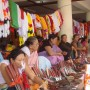 """Women sell knives at the """"Women's Market"""" in Imphal. Manipuri women have traditionally borne the brunt of economic responsibilities in the household - Takhelchangbam Ambravati   Panos London"""