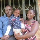 Robert Sserunjogi from Kampala, Uganda and his wife, Janet Nalweiso, plan to have two children. For now they are focusing on bringin up their only son, Eric. The photographer has previously been trained and equipped by Panos - Wambi Michael   Panos London