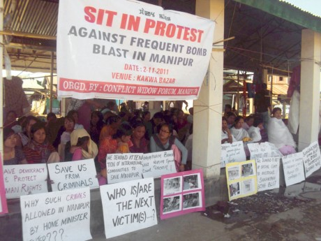 Widows campaign against conflict in Manipur - Takhelchangbam Ambravati | Panos London