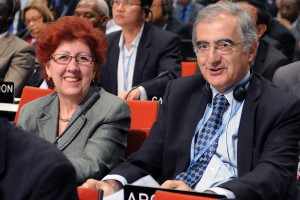 Ambassador Silvia Merega, Argentina's Environmental Affairs Manager at the Foreign Affairs Ministry