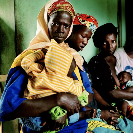 Village women listen to an educational talk regarding the dangers of female circumcision - Alfredo Caliz | Panos Pictures