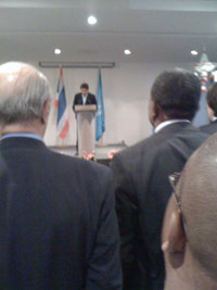 The outgoing Secretary General of UNESCO - Tim Williams | Panos Londonn