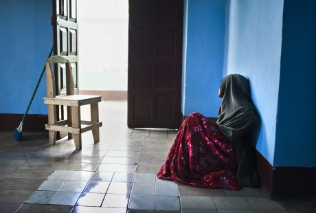 A rape survivor in the Elman Peace and Human Rights Centre - Sven Torfinn | Panos Pictures
