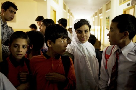 In the hallway between classes - Carolyn Drake | Panos Pictures