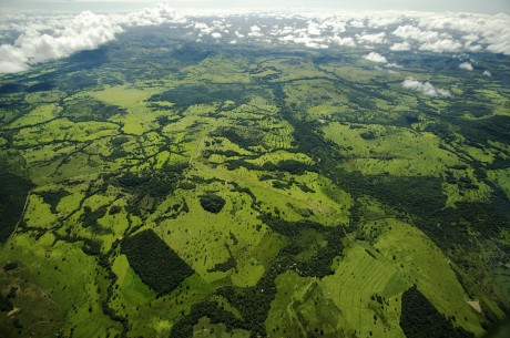 The most dramatic way to see the extent of deforestation in the Amazon rainforest is from the air - Eduardo Martino | Panos Pictures