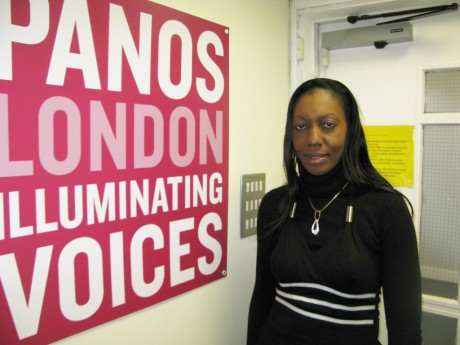 Anne visits the Panos London office - Anne Mireille Nzouankeu | Panos London