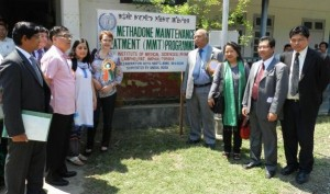 The opening of the Methadone Maintenance Treatment (MMT) Programme - Thingnam Anjulika | Panos London