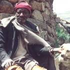 Lipholo Bosielo, one of the narrators in the Molika-liko valley - Kitty Warnock | Panos London