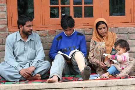 Shabir and his family - Raashid Bhat   Panos London