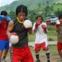 Mary Kom trains with her students at her non-profit boxing accademy in Manipur - Anjulika Thingnam | Panos London