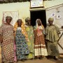 Members of a local women's group (Association des Femmes) stand outside their office in Sévaré, Mali - Neil Cooper | Panos Pictures