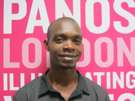 Javie Ssozi, co-founder of Uganda Speaks, says social media such as Twitter enables people to hold the government and corporations to account - Lilly Peel | Panos London
