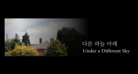 The opening title of Under A Different Sky, directed by Paul Harraby | Panos London