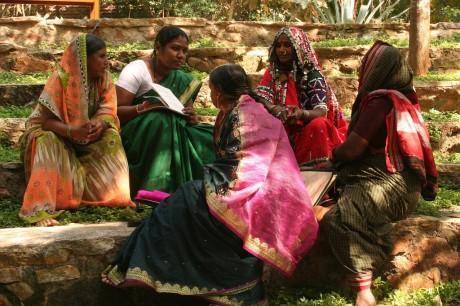 A meeting of the Telengana Mahila Mahajena Samakhya (All Dalit Women's Association of Telengana) - Stella Paul | Panos London